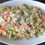 Wraps met eisalade en sla