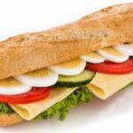 Sandwich omelet